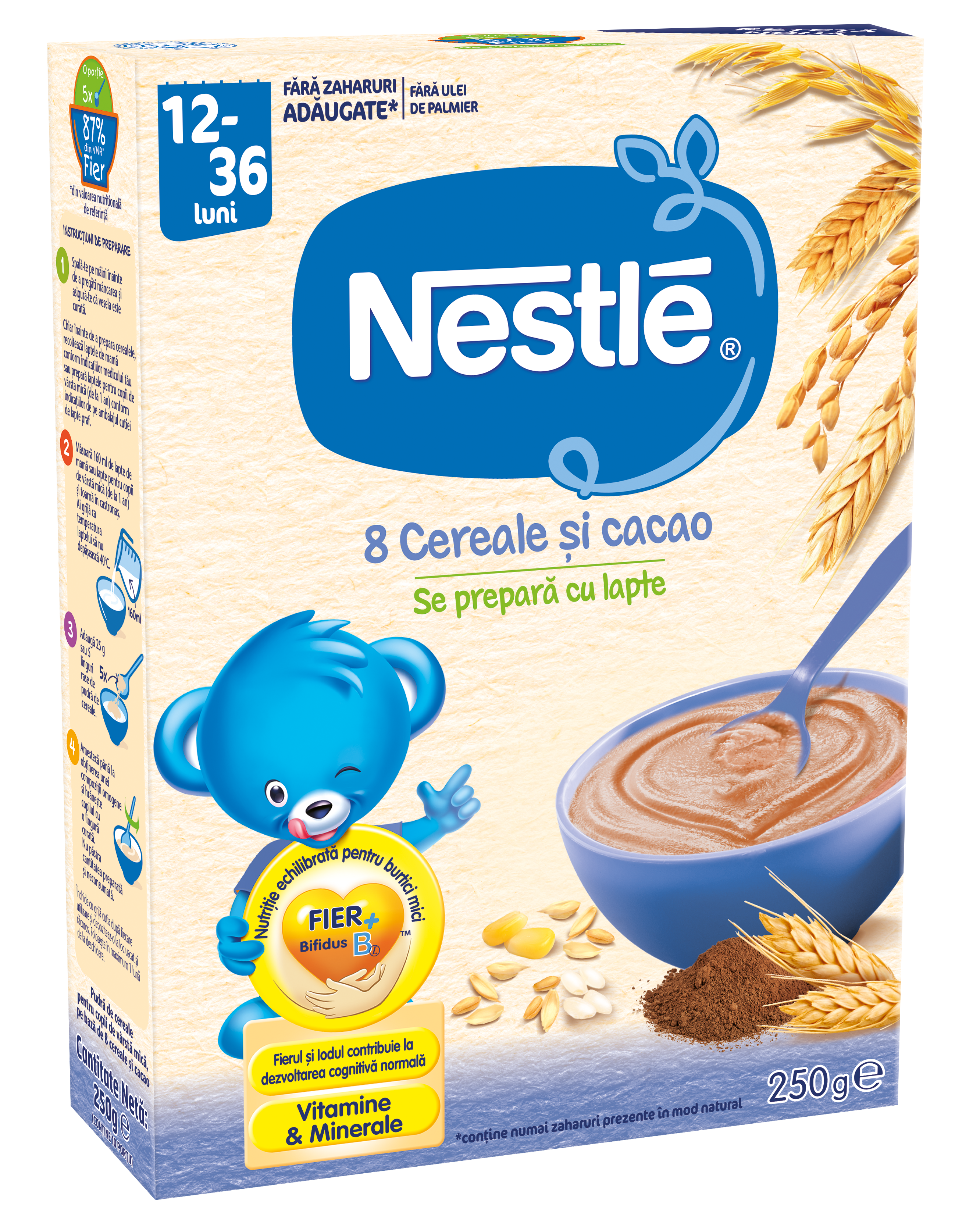 cereale nestle 8 cereale si cacao